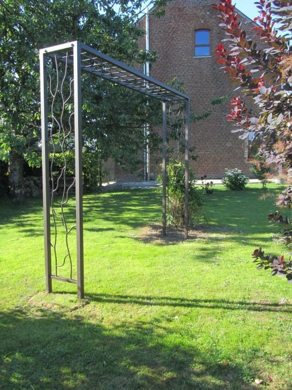Metalmorphose ferronnerie artisanale balconnier potence mobilier jardin bougeoir fer - Mobilier jardin brabant wallon paris ...